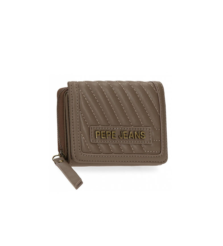 Comprar Pepe Jeans Pepe Jeans Amanda wallet with taupe purse -10x8x3cm