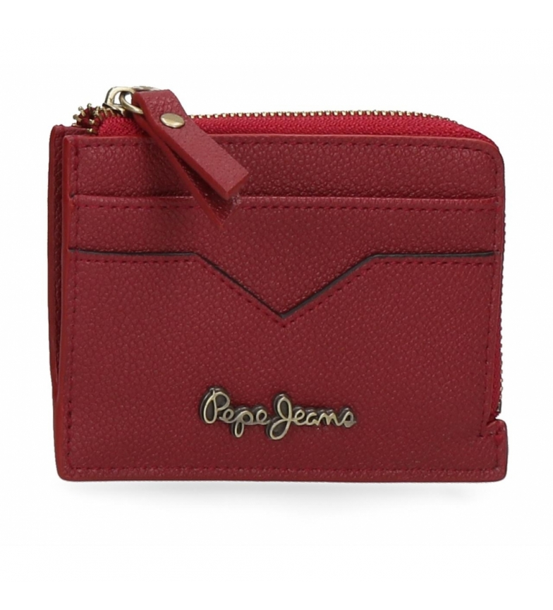Comprar Pepe Jeans Pepe Jeans India coin purse with burgundy card holder -11,5x8x1,5cm