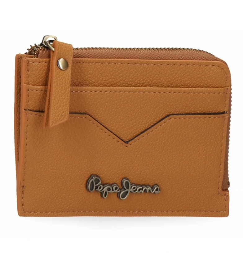 Comprar Pepe Jeans Pepe Jeans India coin purse with ochre card holder -11,5x8x1,5cm