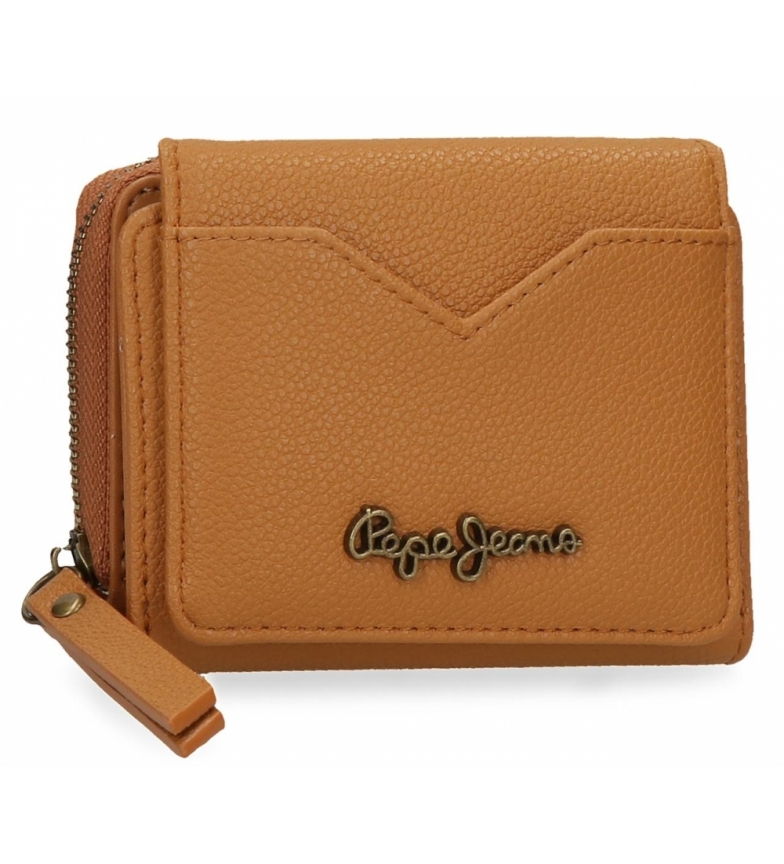 Comprar Pepe Jeans Pepe Jeans India Wallet with Ochre Wallet -10x8x3cm