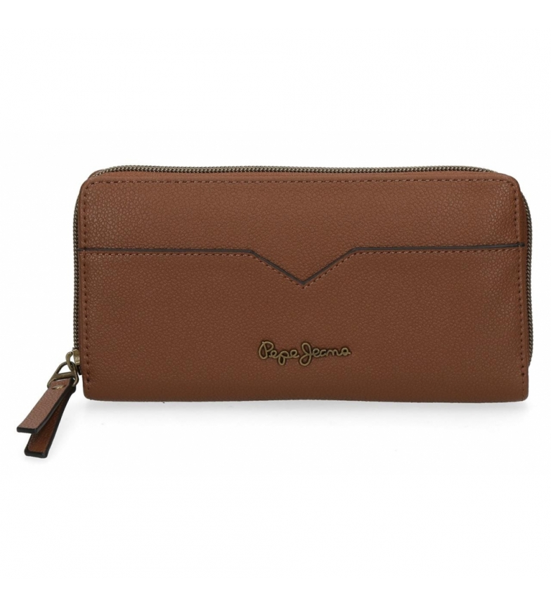 Comprar Pepe Jeans Pepe Jeans India brown wallet -18x10x2cm