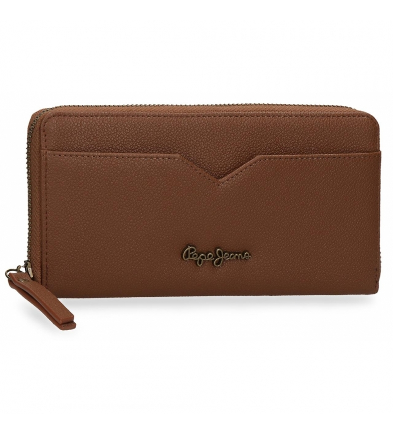 Comprar Pepe Jeans Pepe Jeans India brown wallet -19,5x10x2cm