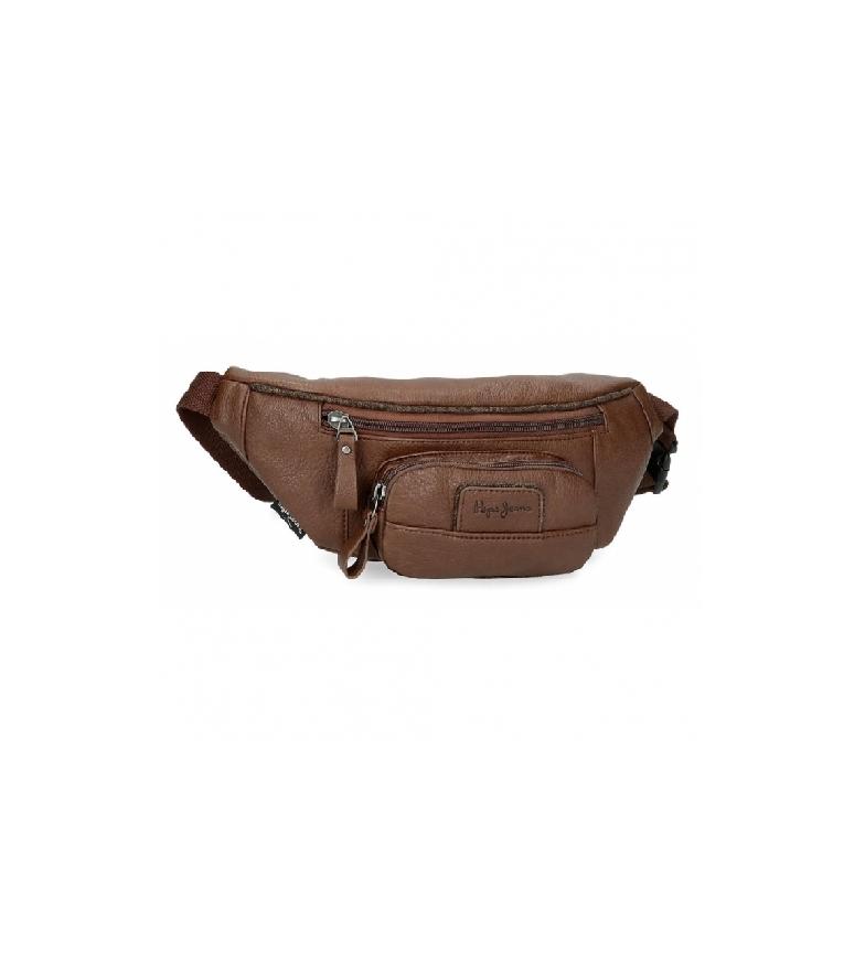 Pepe Jeans Pepe Jeans Wilton brown waist belt -35x13x5cm