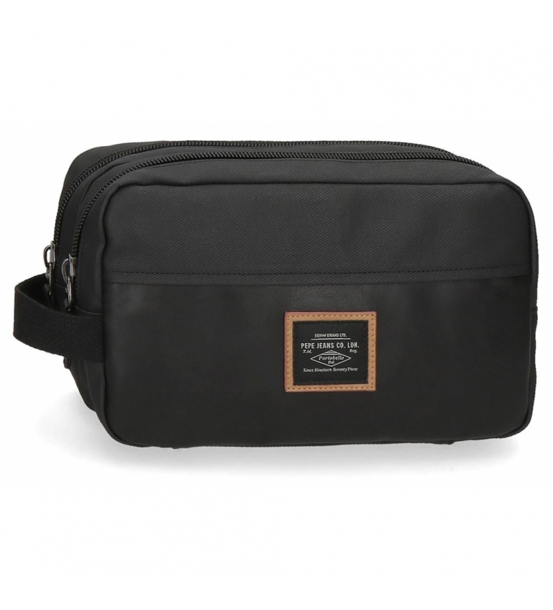 Comprar Pepe Jeans Pepe Jeans Pathway double compartment adaptable bag black -26x16x12cm