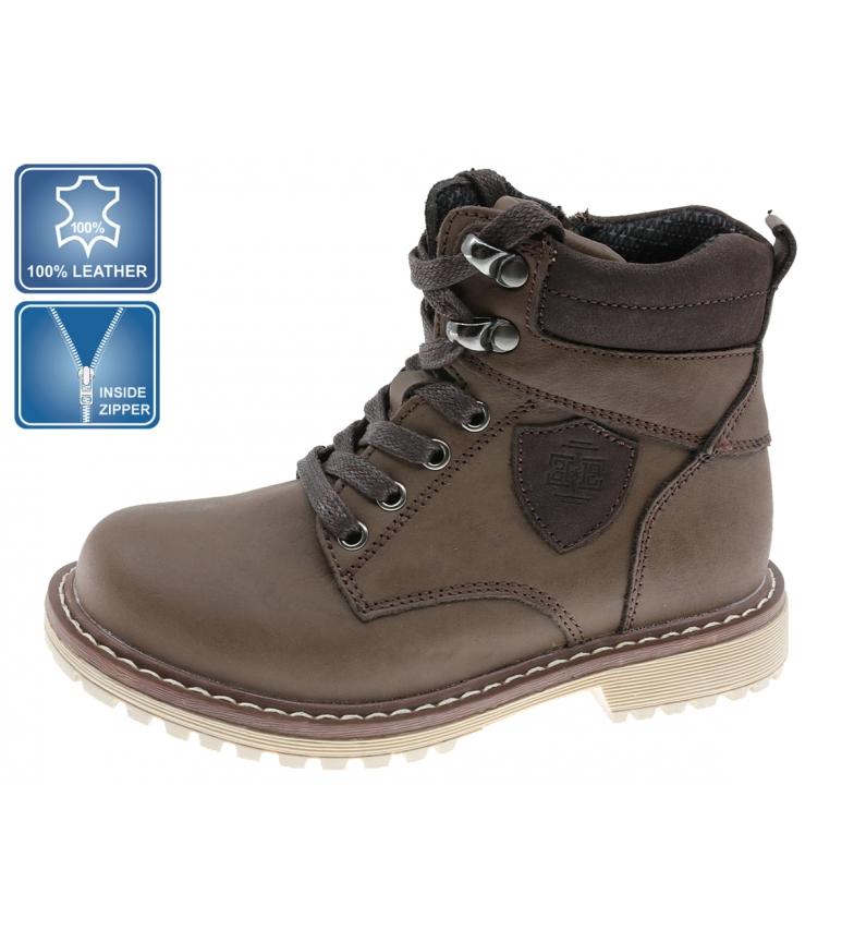 Comprar Beppi Botas de couro para tornozelo 2182110 castanho