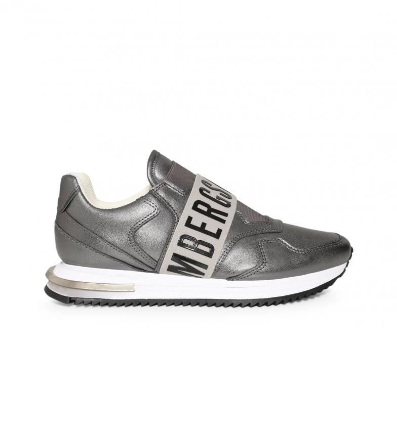Comprar Bikkembergs Chaussures en cuir B4BKW0056 gris