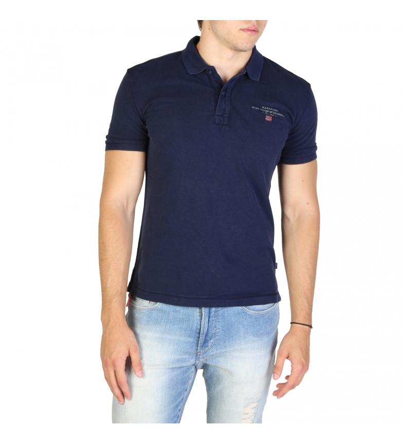 Comprar Napapijri Polo shirt ELBAS3_NP0A4EGC blue