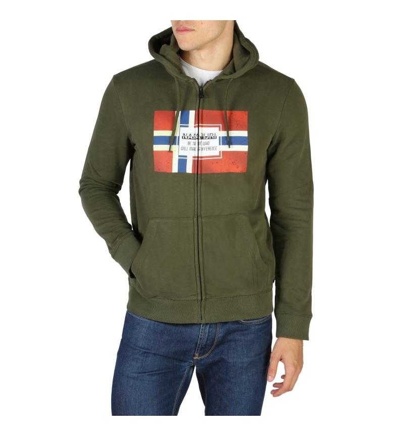Comprar Napapijri Camisa de suor NP0A4EN7 verde