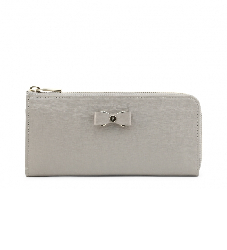 Comprar Furla Leather wallet PAU4_GLENDA beige -20x10x2cm
