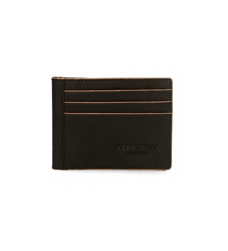 Comprar Pepe Jeans Porte-cartes Pepe Jeans en cuir gratté -9,5x7,5cm