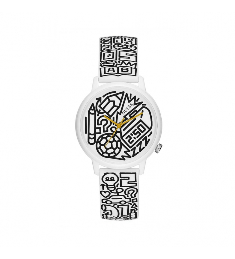 Comprar Guess Time to Give white watch