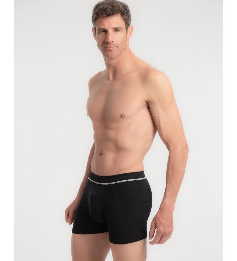 Comprar Abanderado Boxer fechado de algodão penteado Suavidade real em preto