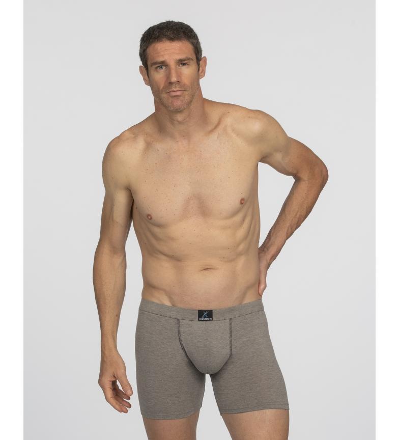 Comprar Abanderado Boxer X-Temp algodão cinzento