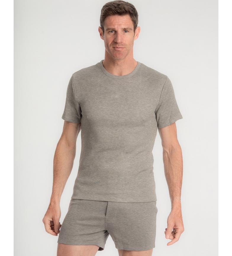 Comprar Abanderado Camiseta interior gris cuello con tecnología termorreguladora X-Temp