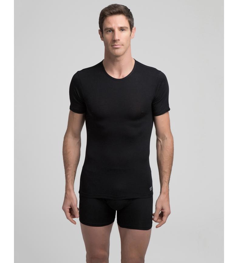 Comprar Abanderado Camiseta interior  térmica negro con tecnología Termaltech