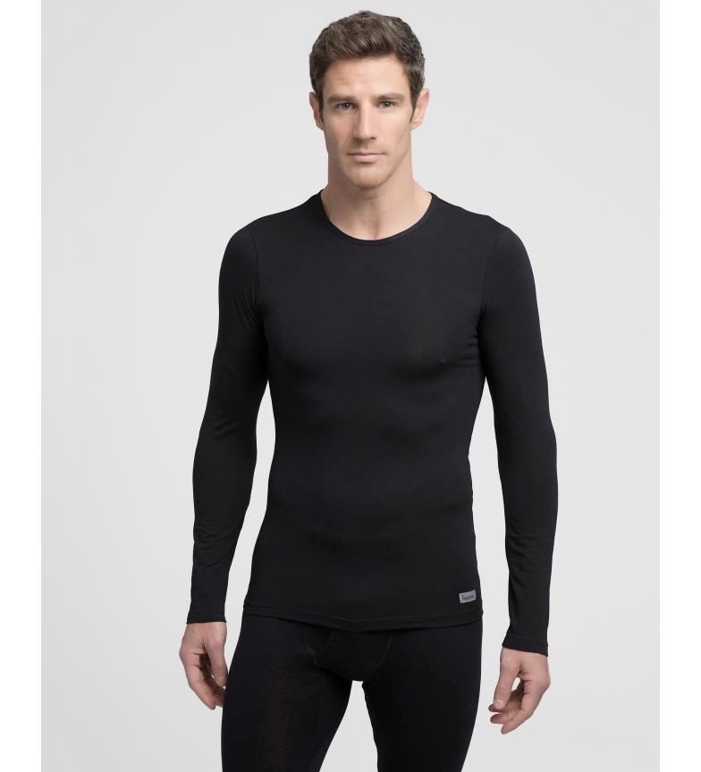 Comprar Abanderado Camiseta interior  térmica negra con tecnología Termaltech