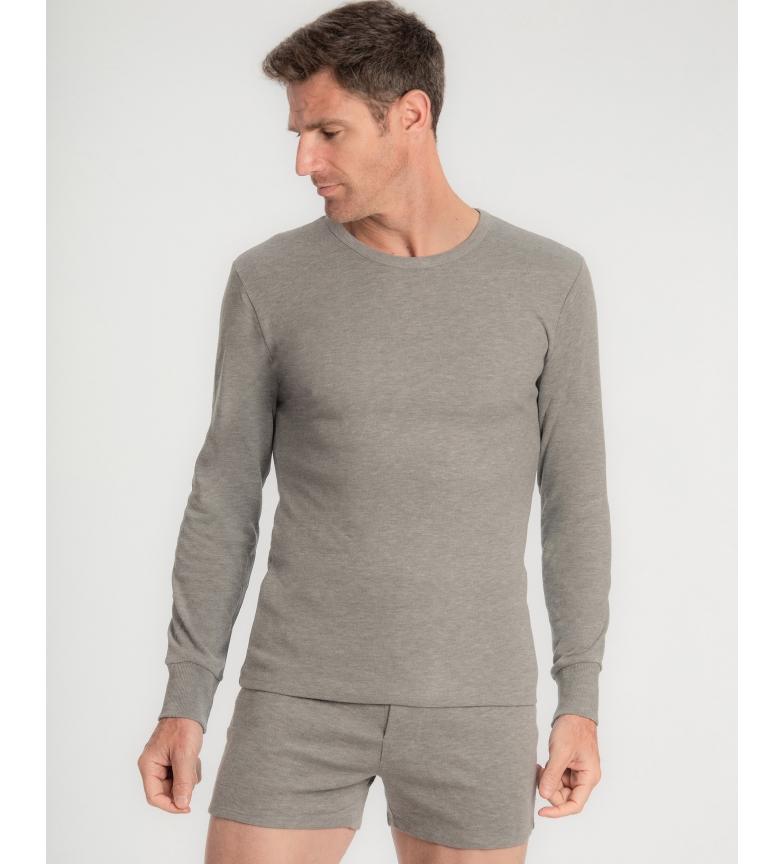 Comprar Abanderado Camiseta Térmica Manga Larga gris