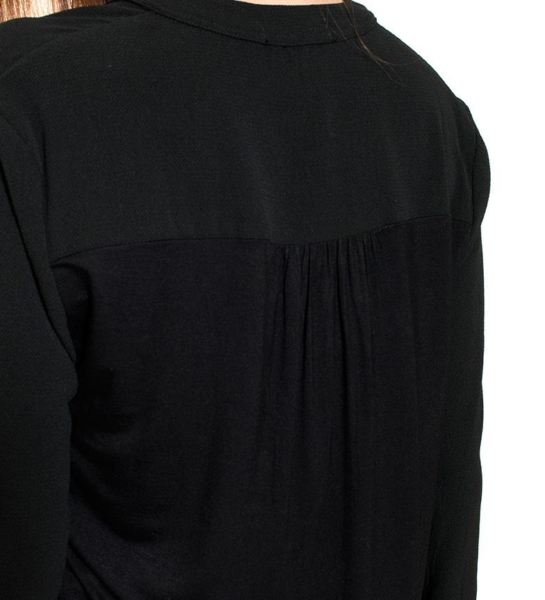 Ada Gatti Camisa Holly negra