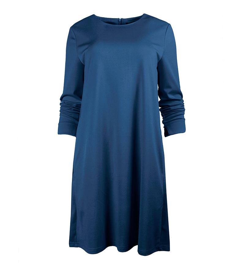 Ada Gatti Vestido Noc azul