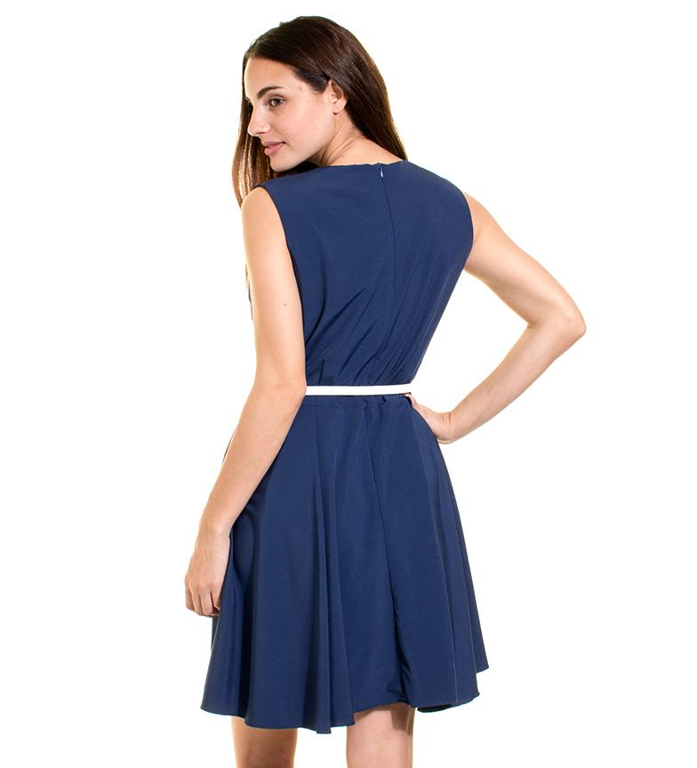 Ada Gatti Vestido Vare azul