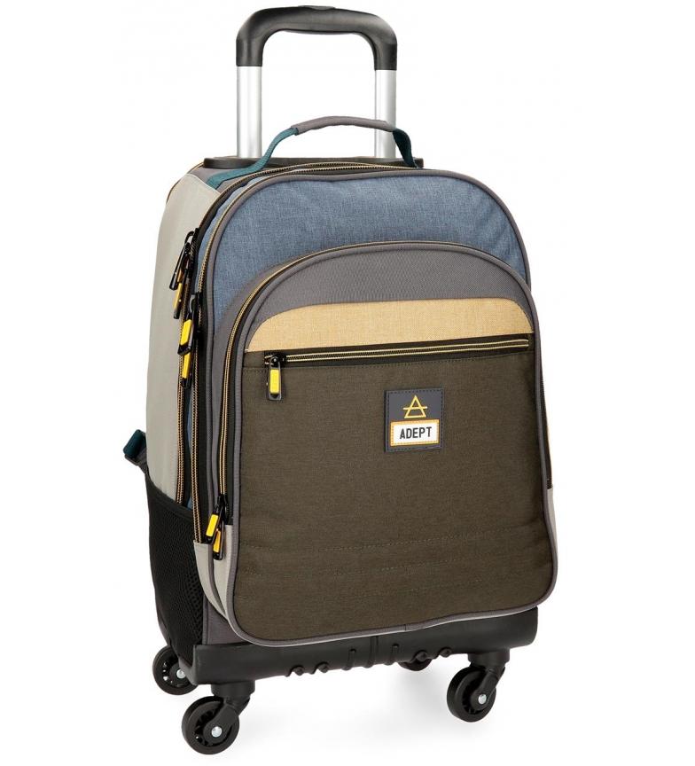 Comprar Adept Mochila com rodas Adept Camper -32x44x21cm-