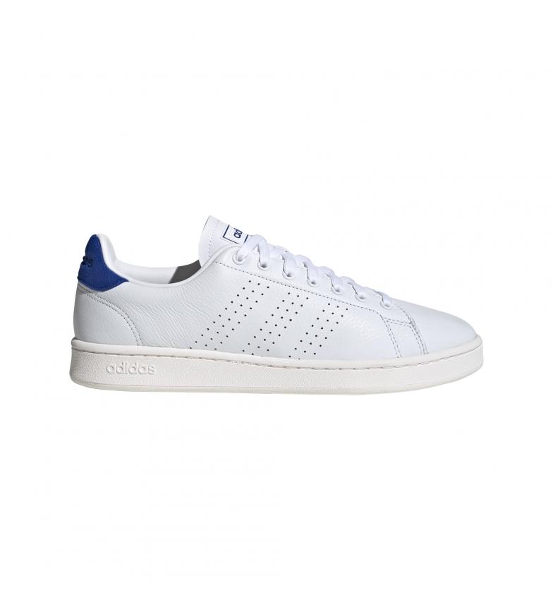 Comprar adidas Zapatillas de piel Advantatge blanco, azul