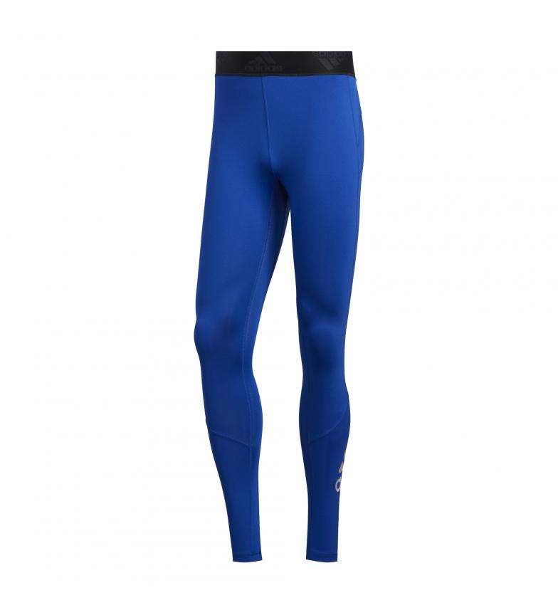 Comprar adidas Alphaskin Sport 2.0 Calze lunghe blu