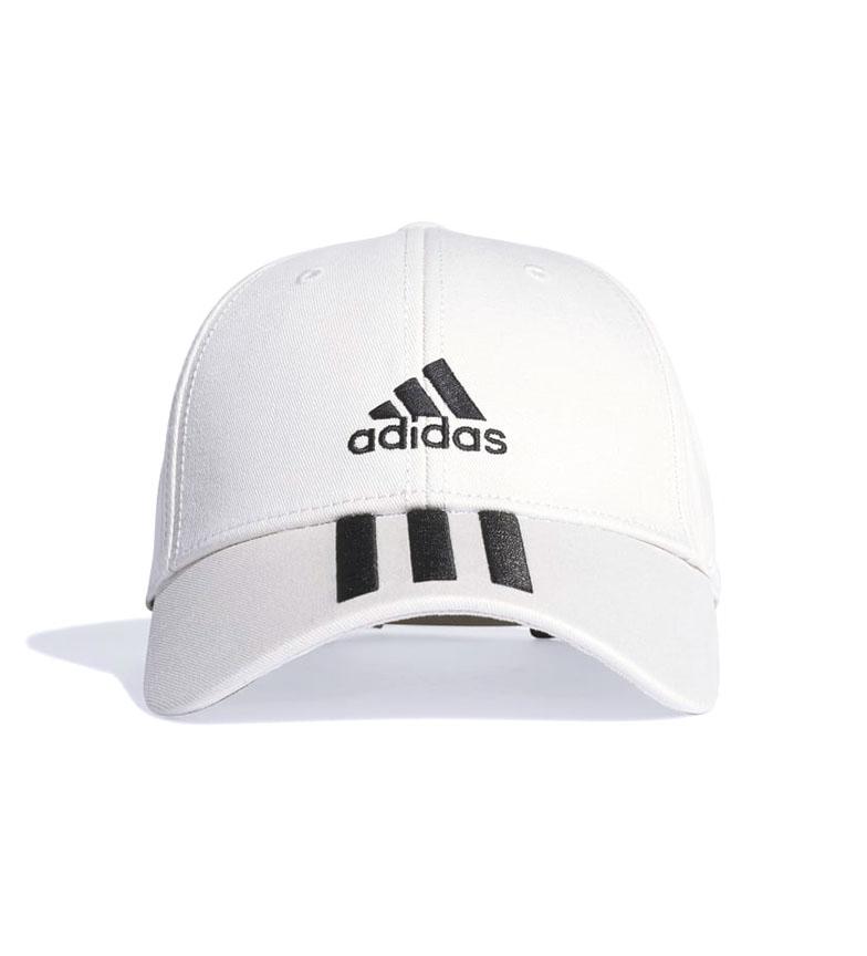 Comprar adidas Gorra Baseball Twill 3 bandas blanco
