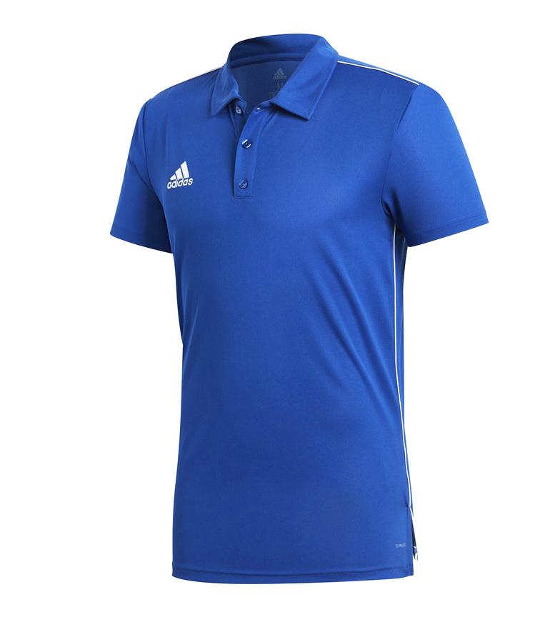 Comprar adidas Polo Core 18 blu / CLIMALITE