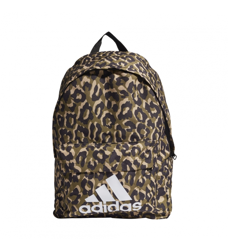adidas Backpack Badge of Sport Leopard brown -46x32x15cm