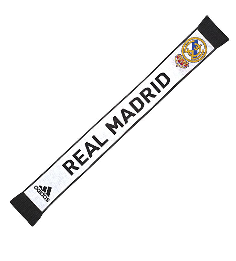 Comprar adidas Real Madrid scarf black, white /135x16,5x9 cm