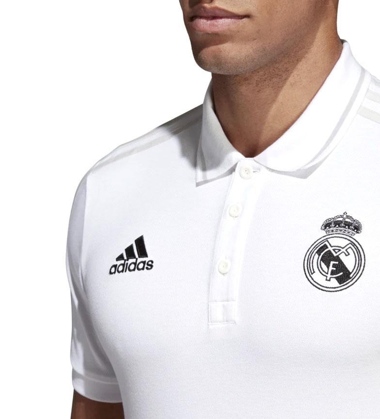 adidas-Polo-Real-Madrid-Hombre-chico-Blanco-Deportivo-Multideporte-Futbol miniatura 15