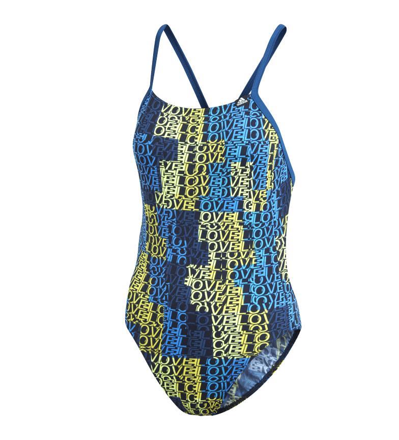 Comprar adidas Bañador Pro Light Graphic azul, amarillo