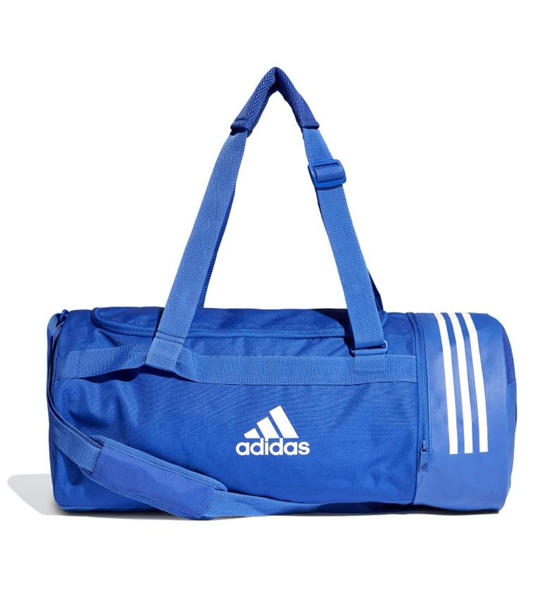 Comprar adidas Bolsa de deporte mediana Convertible 3 bandas azul / 58x27x27 cm