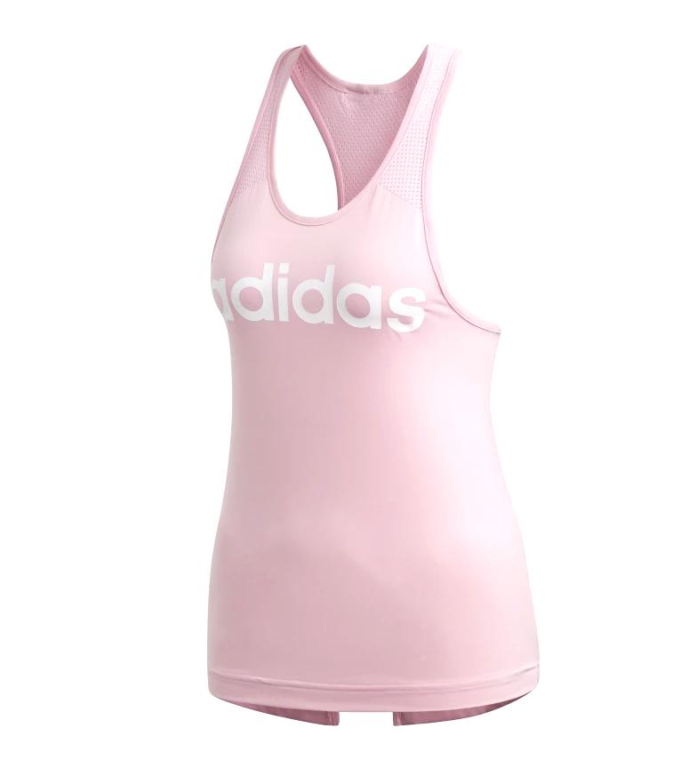 Comprar adidas Camiseta de Tirantes Design 2 Move Logo rosa