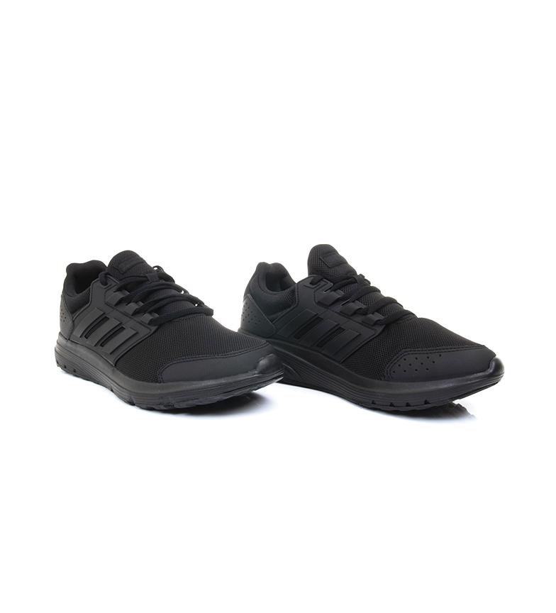 adidas-Zapatillas-de-running-Galaxy-4-rojo-EcoOrthoLite-Hombre-chico-Negro miniatura 9