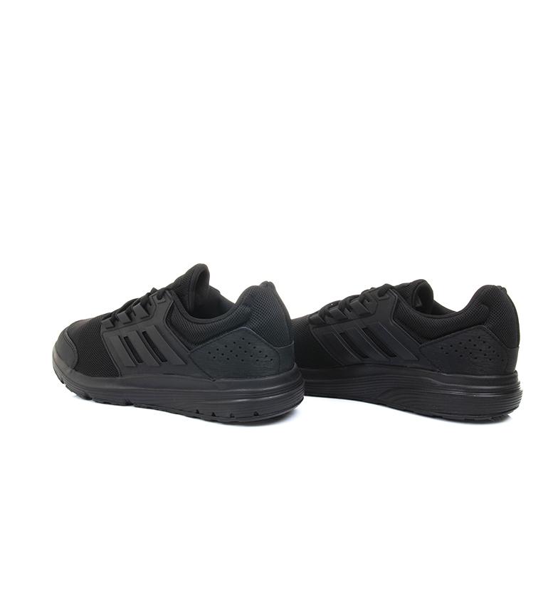 adidas-Zapatillas-de-running-Galaxy-4-rojo-EcoOrthoLite-Hombre-chico-Negro miniatura 10