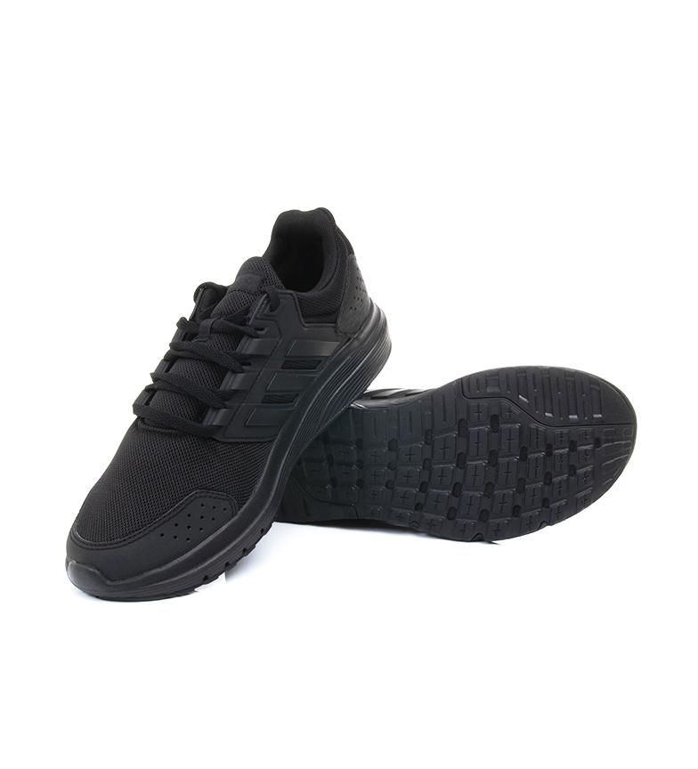 adidas-Zapatillas-de-running-Galaxy-4-rojo-EcoOrthoLite-Hombre-chico-Negro miniatura 11