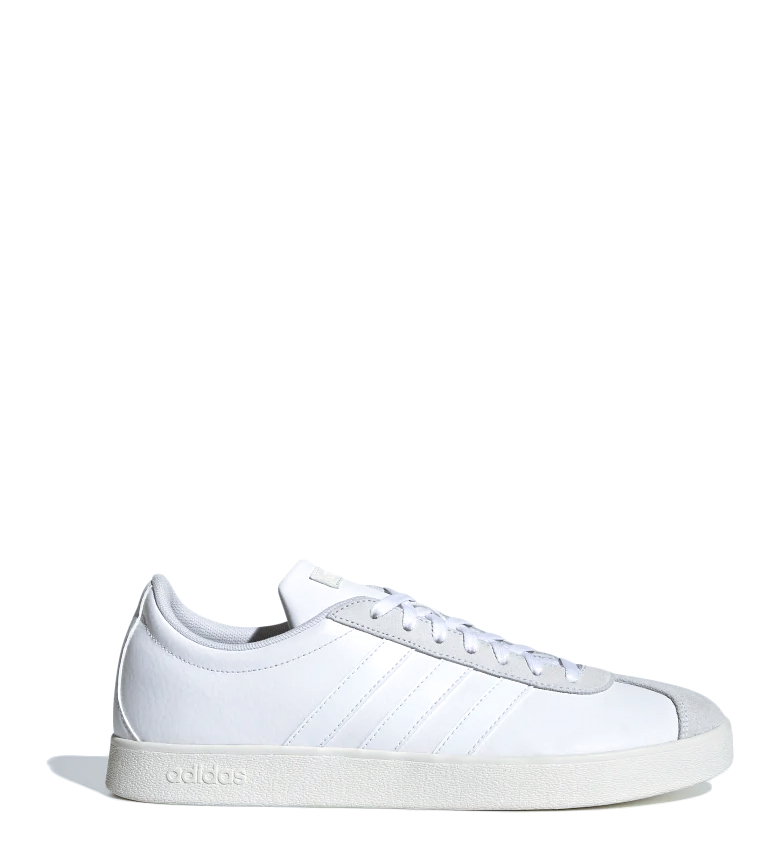 Comprar adidas Pantofole in pelle VL Court 2.0 bianco / OrthoLite Float