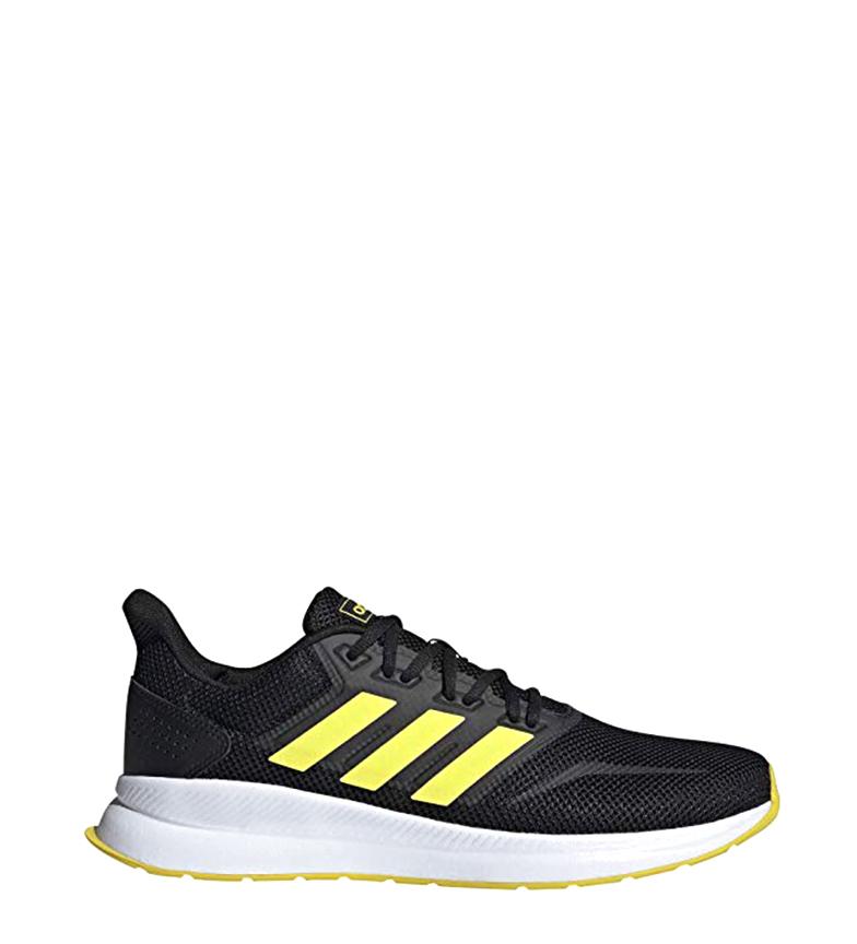Comprar adidas Sapatos Runfalcon preto, amarelo / Peso: 227gr.