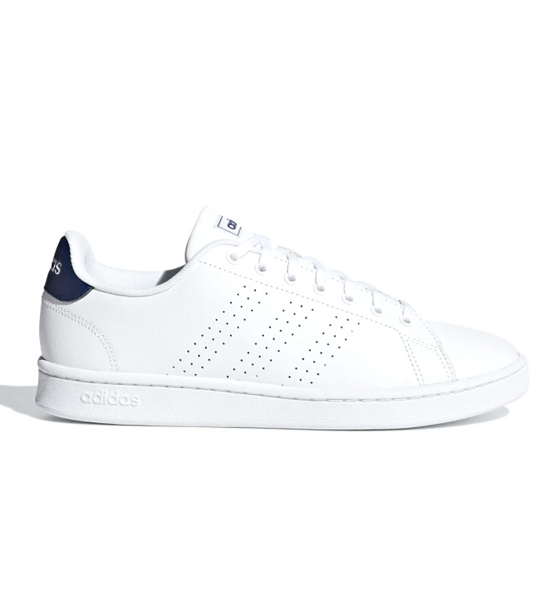 Comprar adidas Zapatillas de piel Advantage blanco, azul