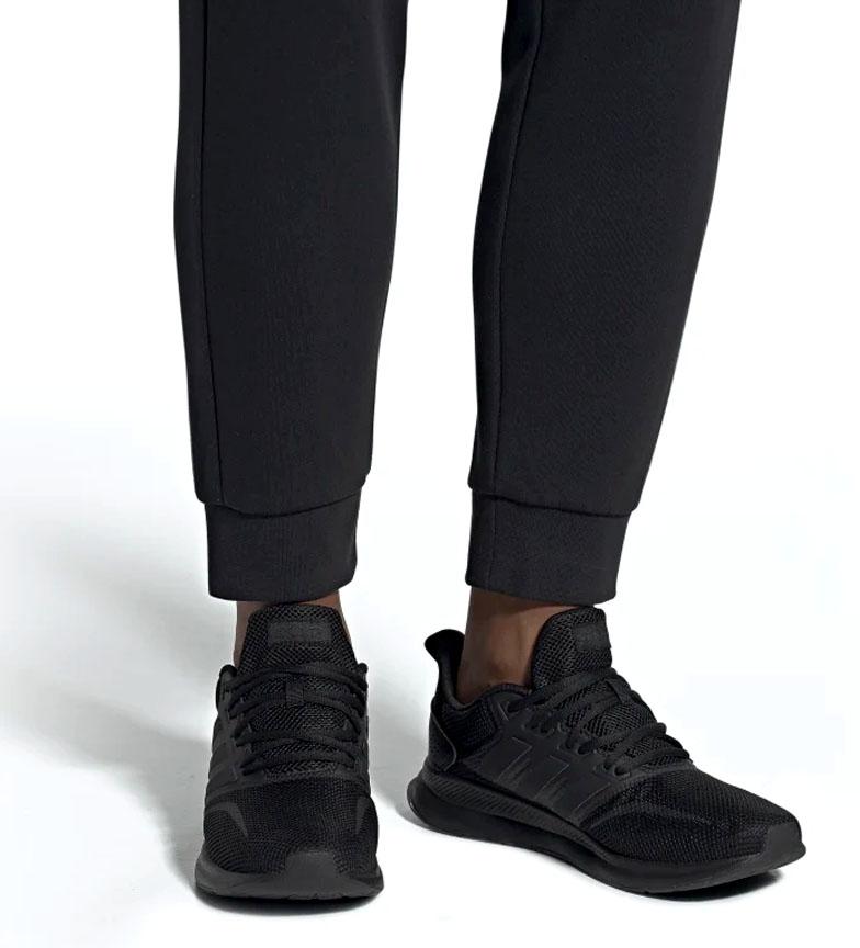adidas-Sneakers-running-Runfalcon-Homme-Noir-Vert-Blanc-Bleu-Gris-Rouge-Tissu miniature 64