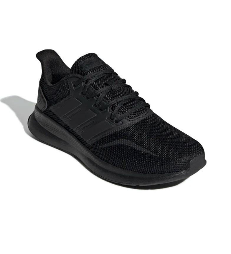 adidas-Sneakers-running-Runfalcon-Homme-Noir-Vert-Blanc-Bleu-Gris-Rouge-Tissu miniature 65