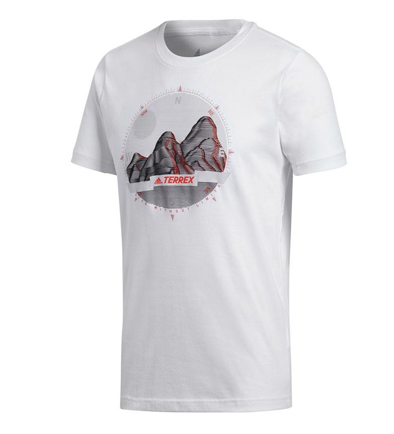 Comprar adidas Terrex Camiseta con Foto ID blanco / Climalite