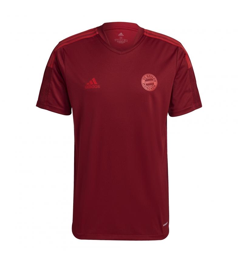 adidas T-shirt allenamento FC Bayern Colpo rosso