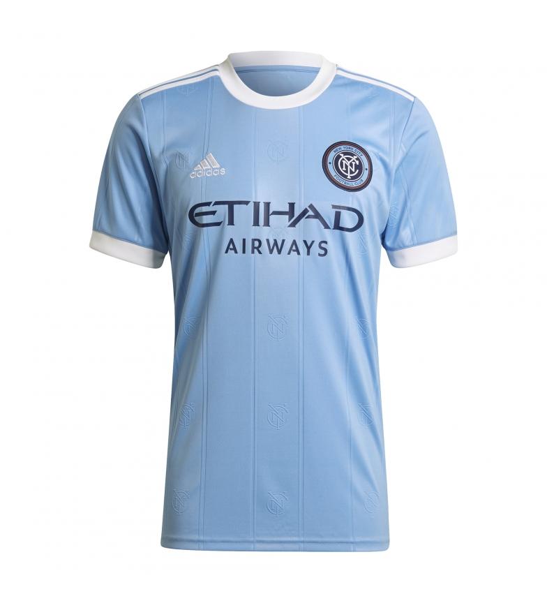 adidas Camiseta primera equipación New York City FC 21/22 azul claro