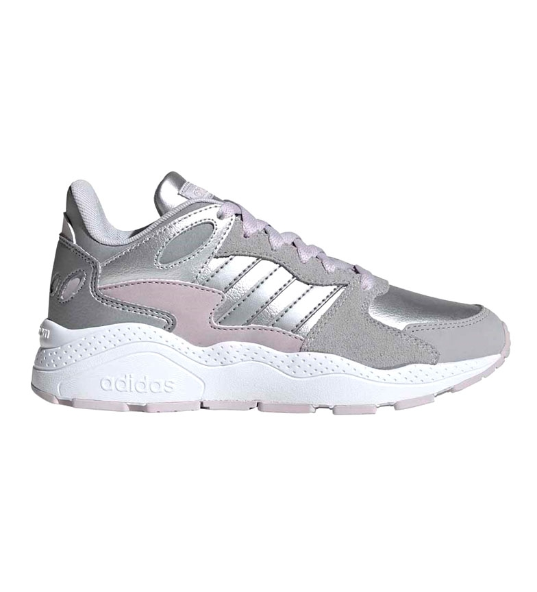 Comprar adidas CrazyChaos J silver leather shoes
