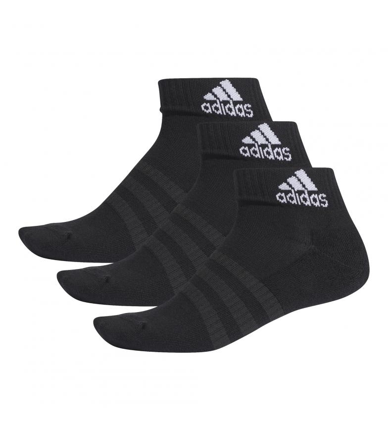 Comprar adidas Pack of 3 CUSH ANK 3PP socks black