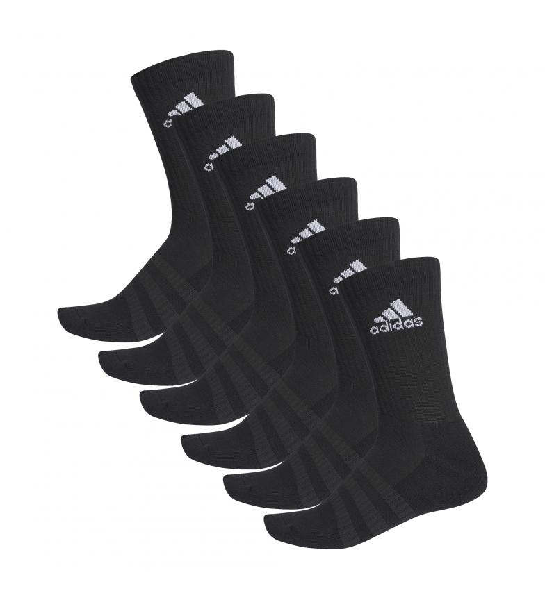 Comprar adidas Pack de 6 calcetines CUSH CRW 6PP negro