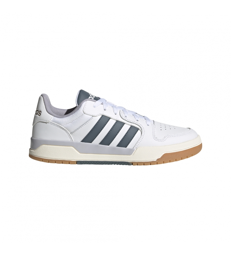 adidas Piège à chaussures en cuir blanc